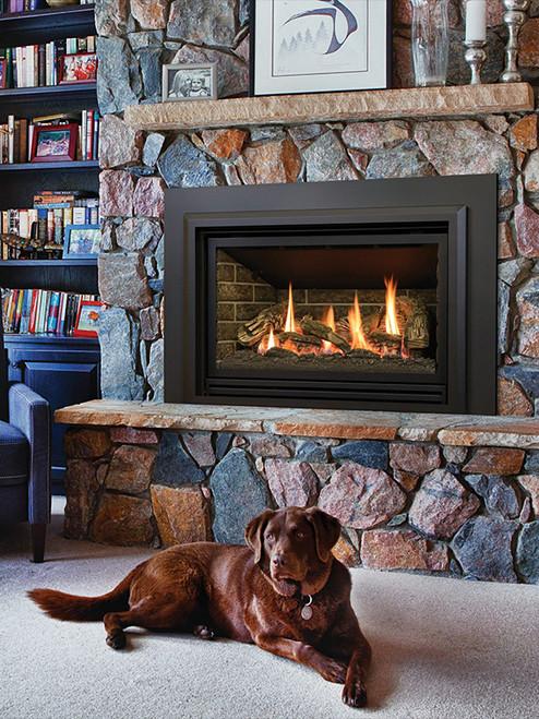 Chaska 335S Gas Insert Fireplace in Millivolt