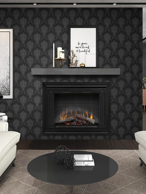 """45"""" Deluxe Built-in Fireplace"""