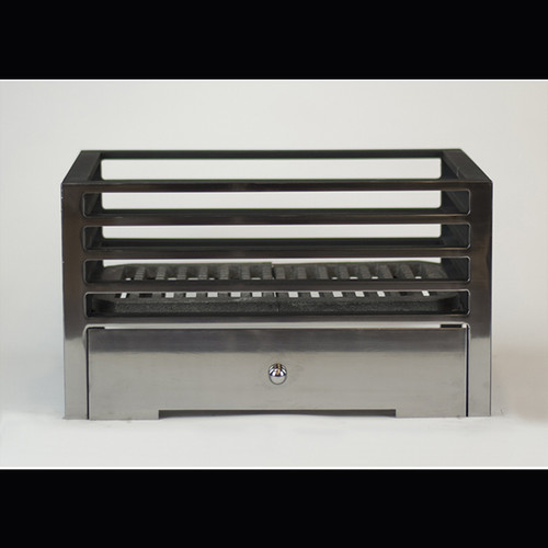 """Available in 18"""" and 22"""" widths  ·                  Osborne 18"""" Fire Basket  ·                  Osborne 22"""" Fire Basket   Product data  Overall size 18"""" (457mm) W x 10"""" (255mm) H x 13'' (331mm) D  More information  All Chesney's fire baskets and register grates are suitable for use with solid fuel or DFE gas fires"""