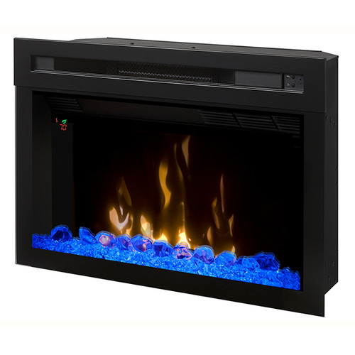 If change is good then the all new Multi-Fire XD® Electric Firebox offers something truly incredible. The sleek full view design allows an unencumbered view of the stunning Realogs®, the second generation of our patented inner glow technology. The dazzling Multi-Fire XD® can accurately reproduce a natural wood-burning fire, gas fireplace or a range of ambient light themes that range from moody and hypnotic, to pulsing and vibrant. Combined with a high-efficiency heating system and intuitive multi-function control options, this new design is the perfect look and feel for any space.