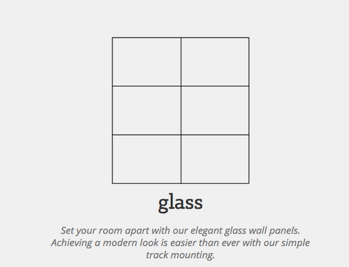 Glass Wall Panel System