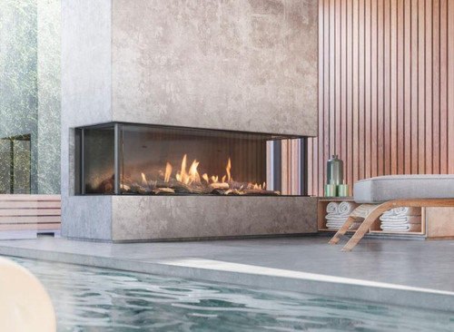 Engage™ Series Built-in Linear Natural Gas Fireplace