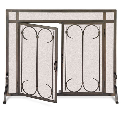 Pilgrim Iron Gate Screen With Doors (Multi Sizes Available)