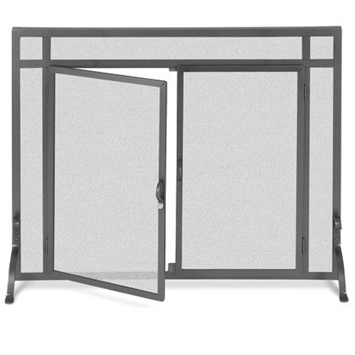 Pilgrim Forged Iron Door Screen (Multi Sizes and Finishes Available)