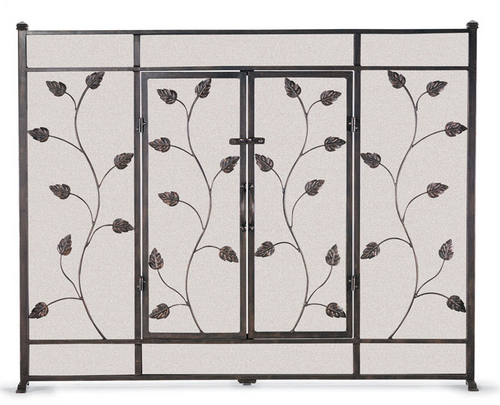 "Pilgrim Leaf & Vine Door Screen 44""W x 34""H (Multi Finishes Available)"