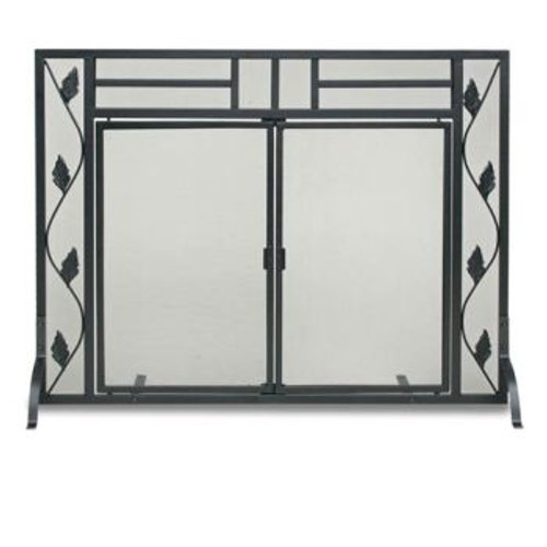"Pilgrim Flat Garden Leaf Screen With Doors 38.5""W x 29""H"