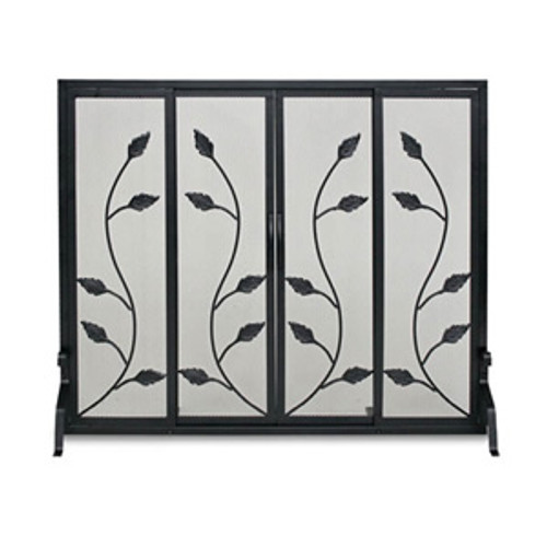 "Pilgrim Flat Garden Vine Screen with Sliding Doors 38""W x 31""H"