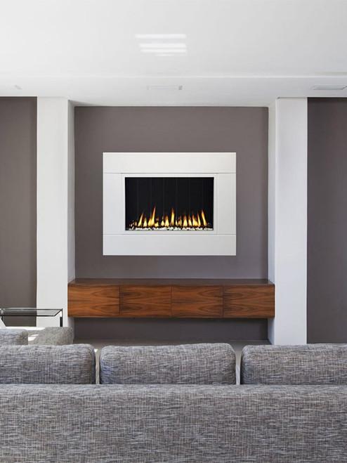 Solas Fire TWENTY6  Wall Mounted Linear Fireplace
