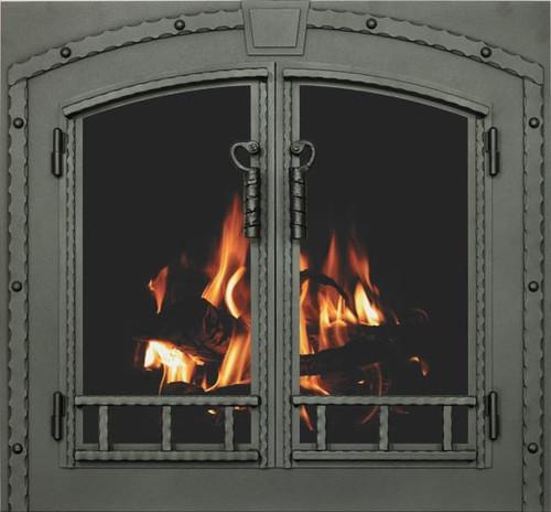 Craftsman Blacksmith Fireplace Doors Pricing From $2556- $4595