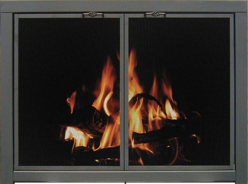 Essential Mesh Fireplace Doors Pricing From $682-$2231