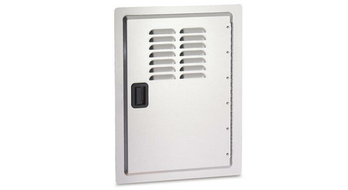 AOG 20X14 Single Access Door with Louvers #20-14-SDV