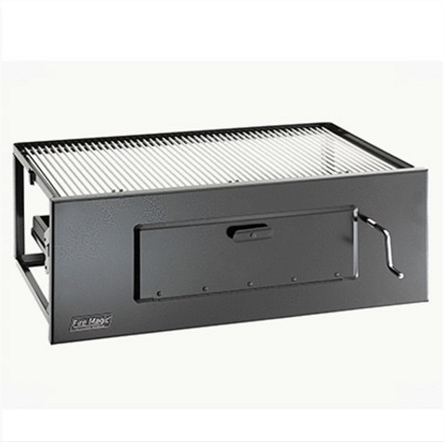 Firemagic Charcoal Lift-A-Fire Built-In Grill