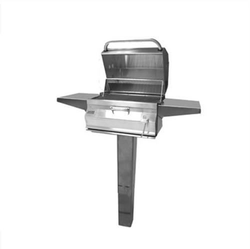 Firemagic Charcoal In-Ground Post Mount