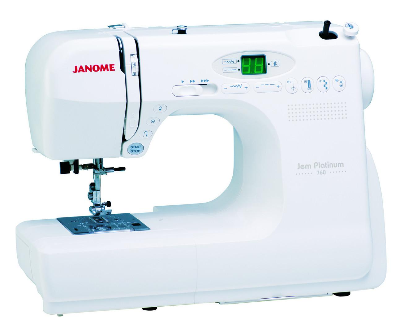 Janome 760 Jem Platinum