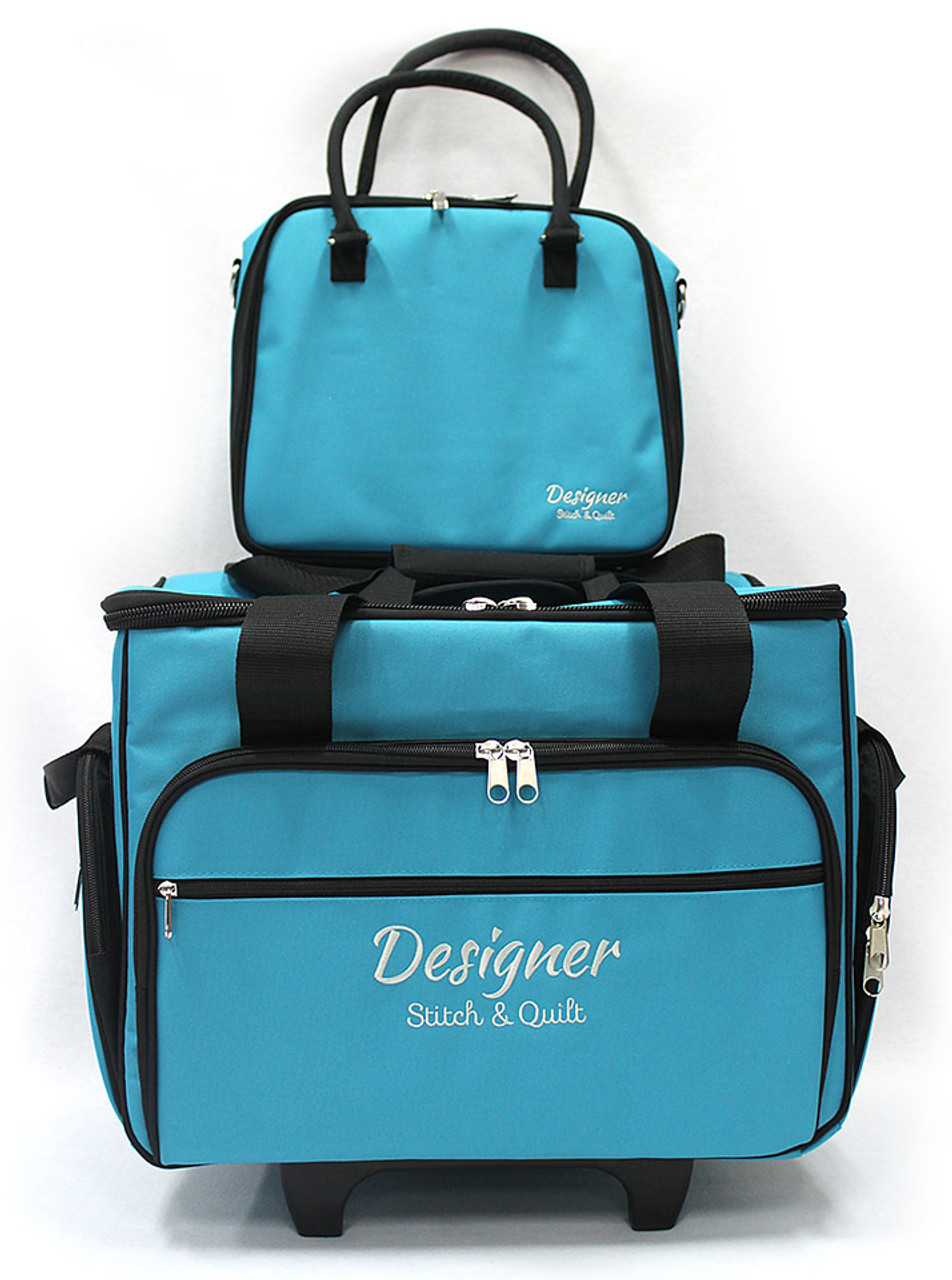 Trolley Bag Medium Teal 43cm