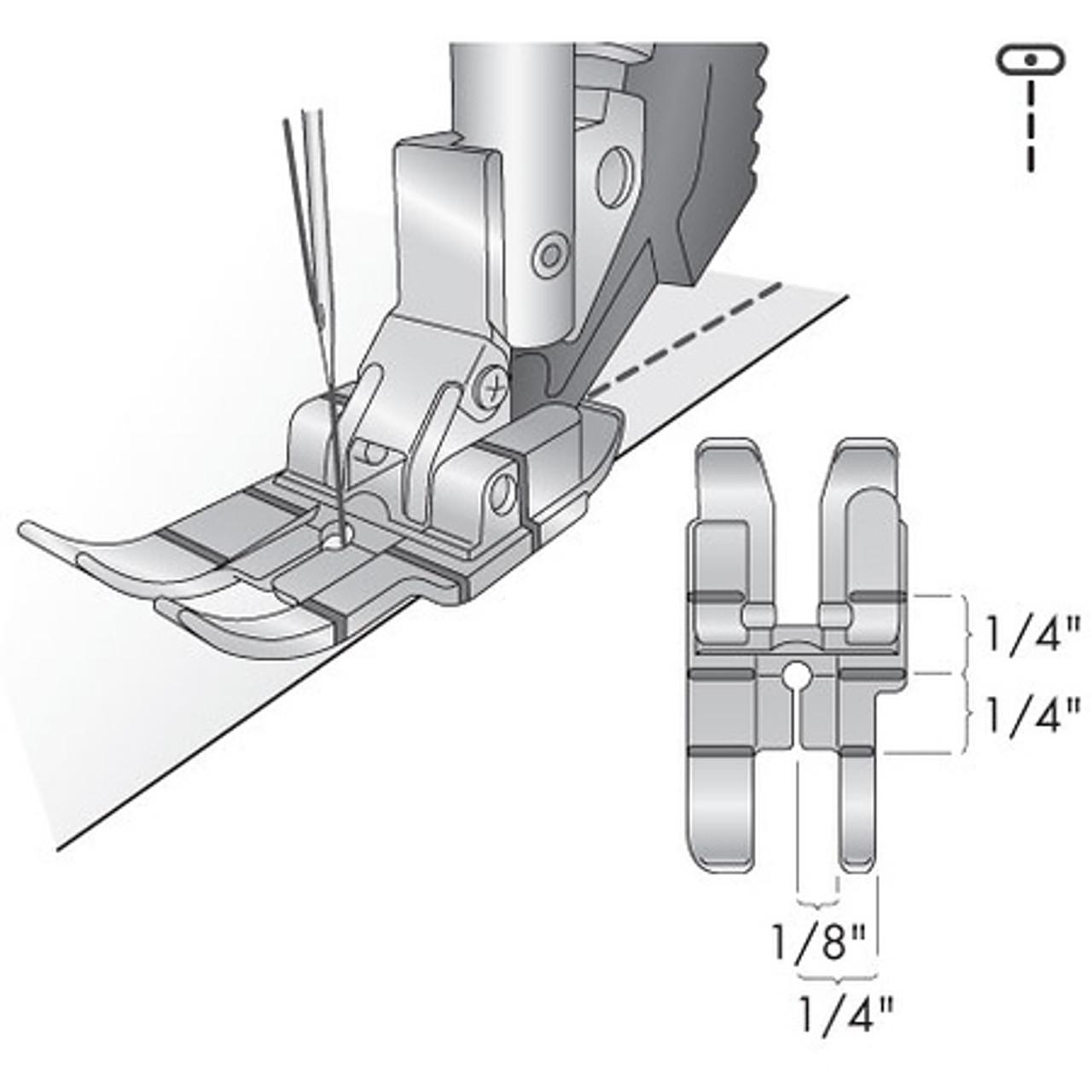 Pfaff 1/4 inch Quilting Foot