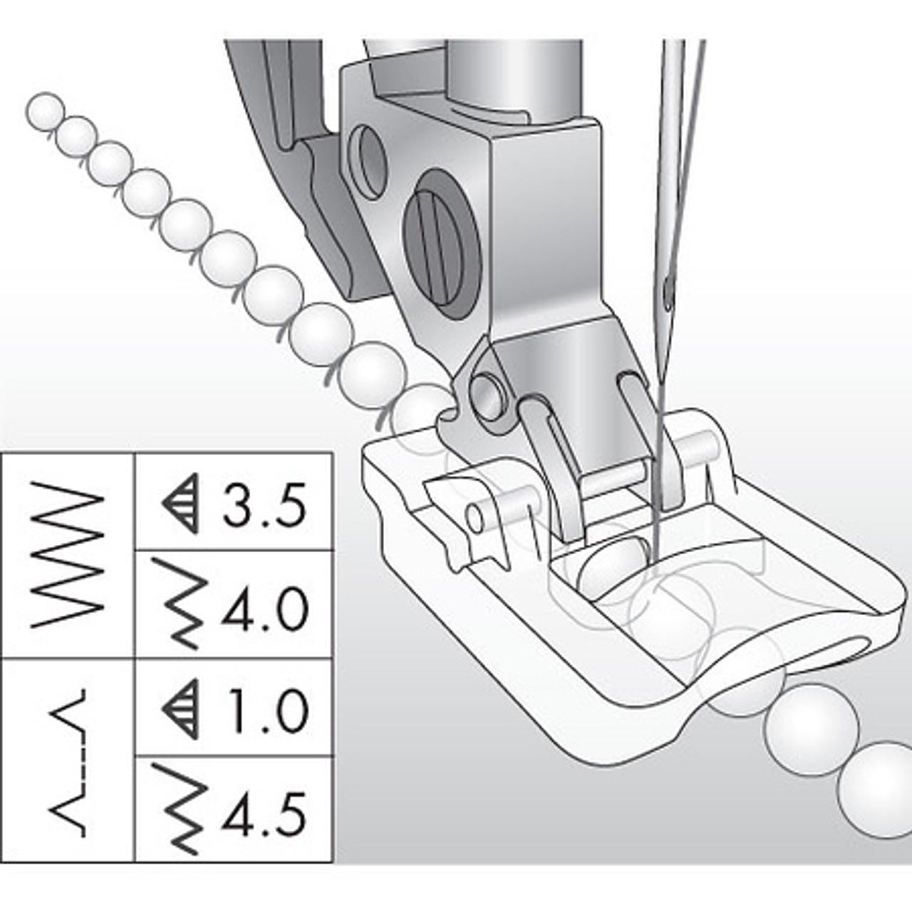 Beading Foot, 4mm