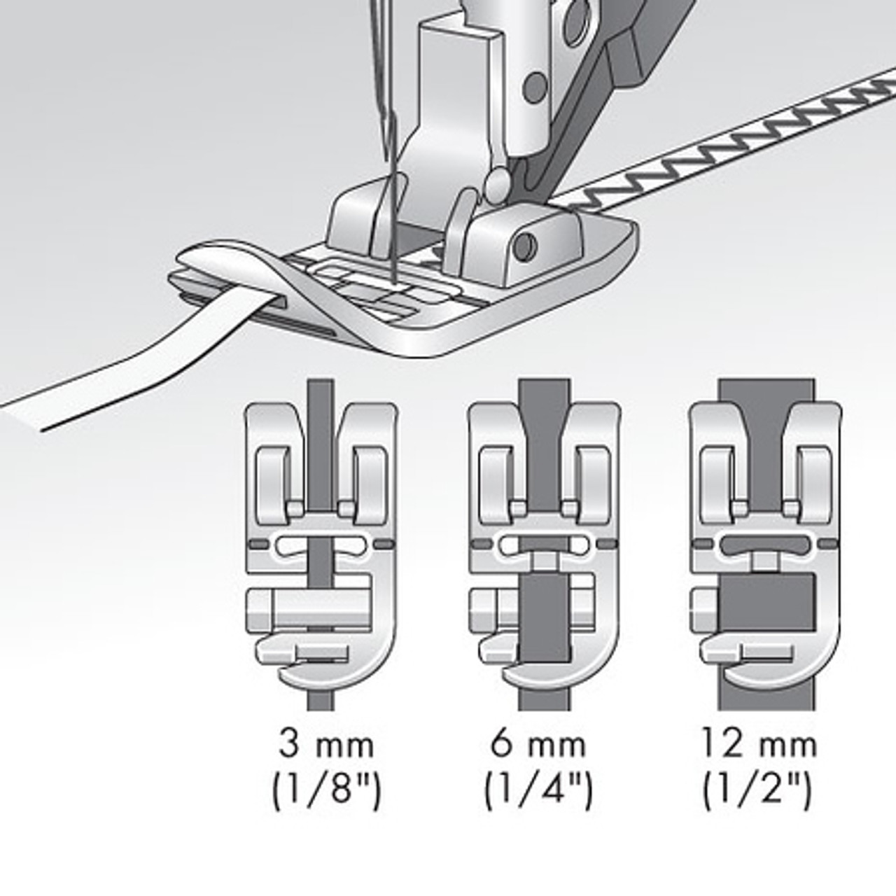 Decorative Trim Foot For IDT System