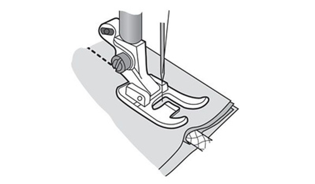 Husqvarna Viking Single welt cord foot
