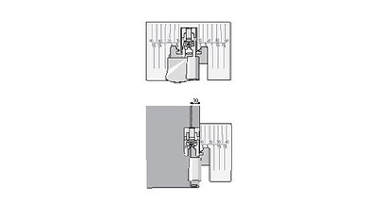 Husqvarna Viking 10mm Hemmer