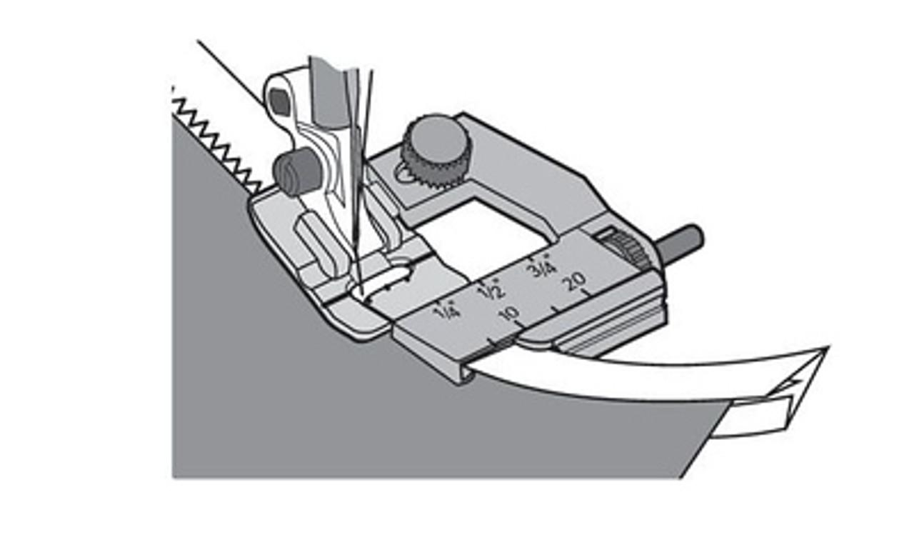 Husqvarna Viking Adjustable binder bias