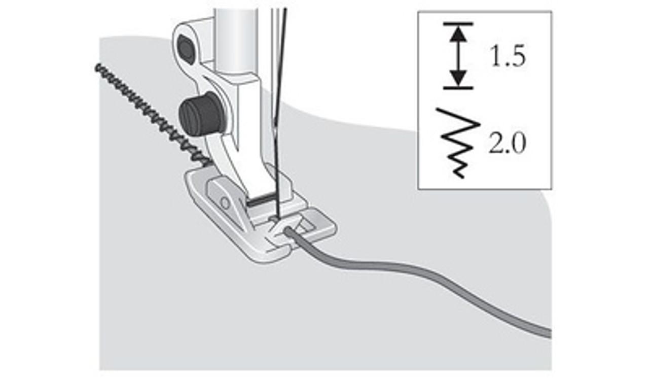 Husqvarna Viking Narrow braid cord