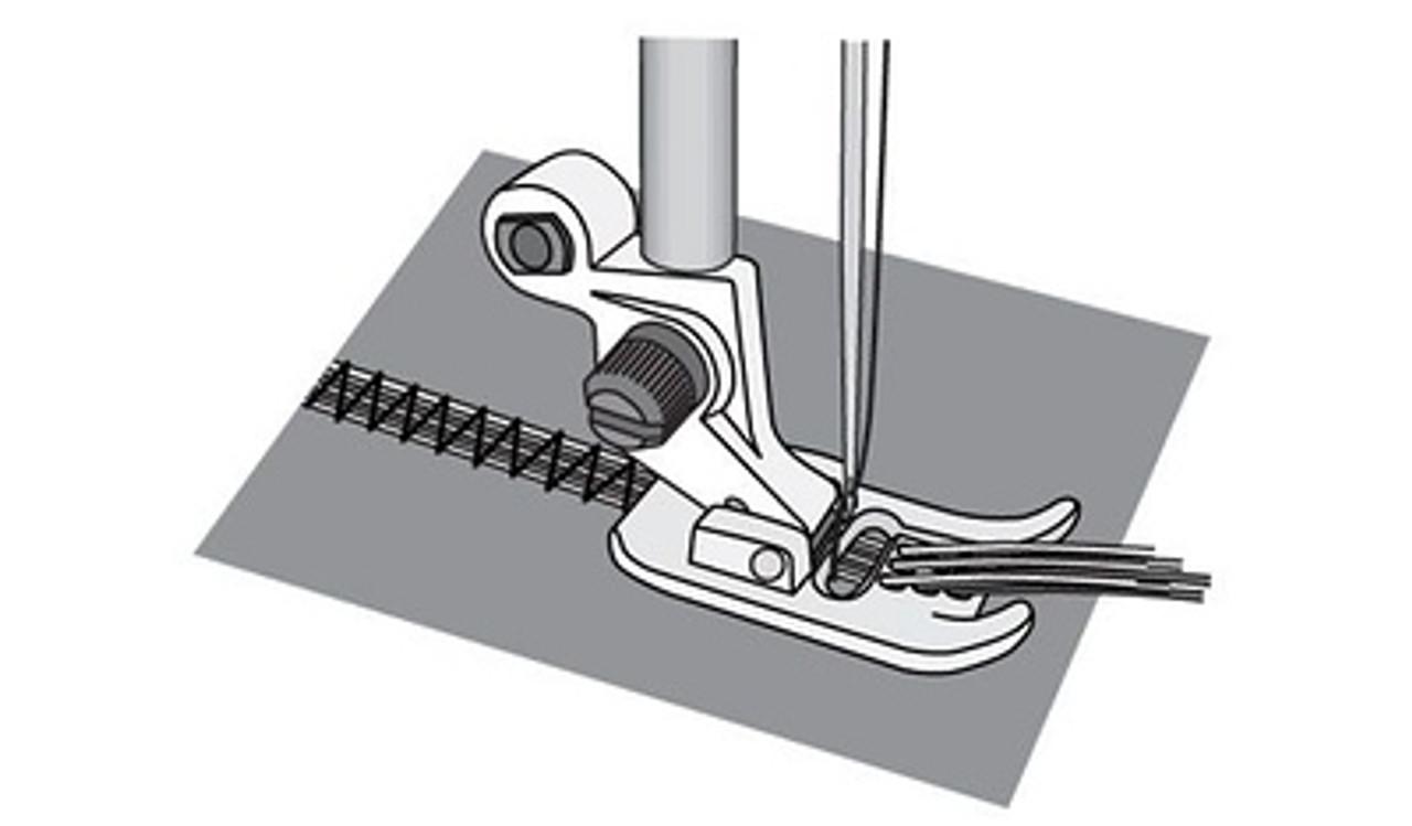 Husqvarna Viking 7-hole Cord with threader