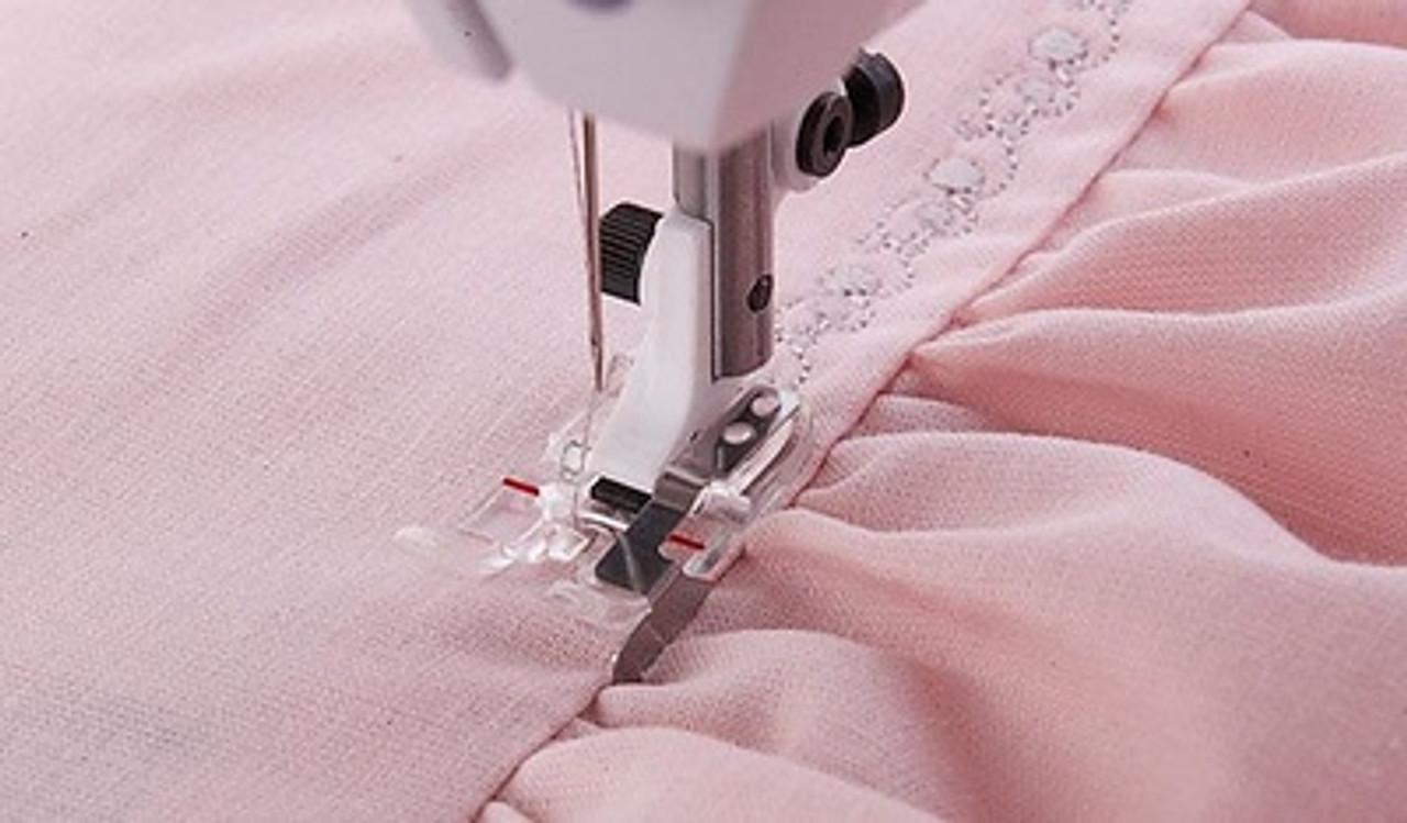 Husqvarna Viking Clear B edge stitching