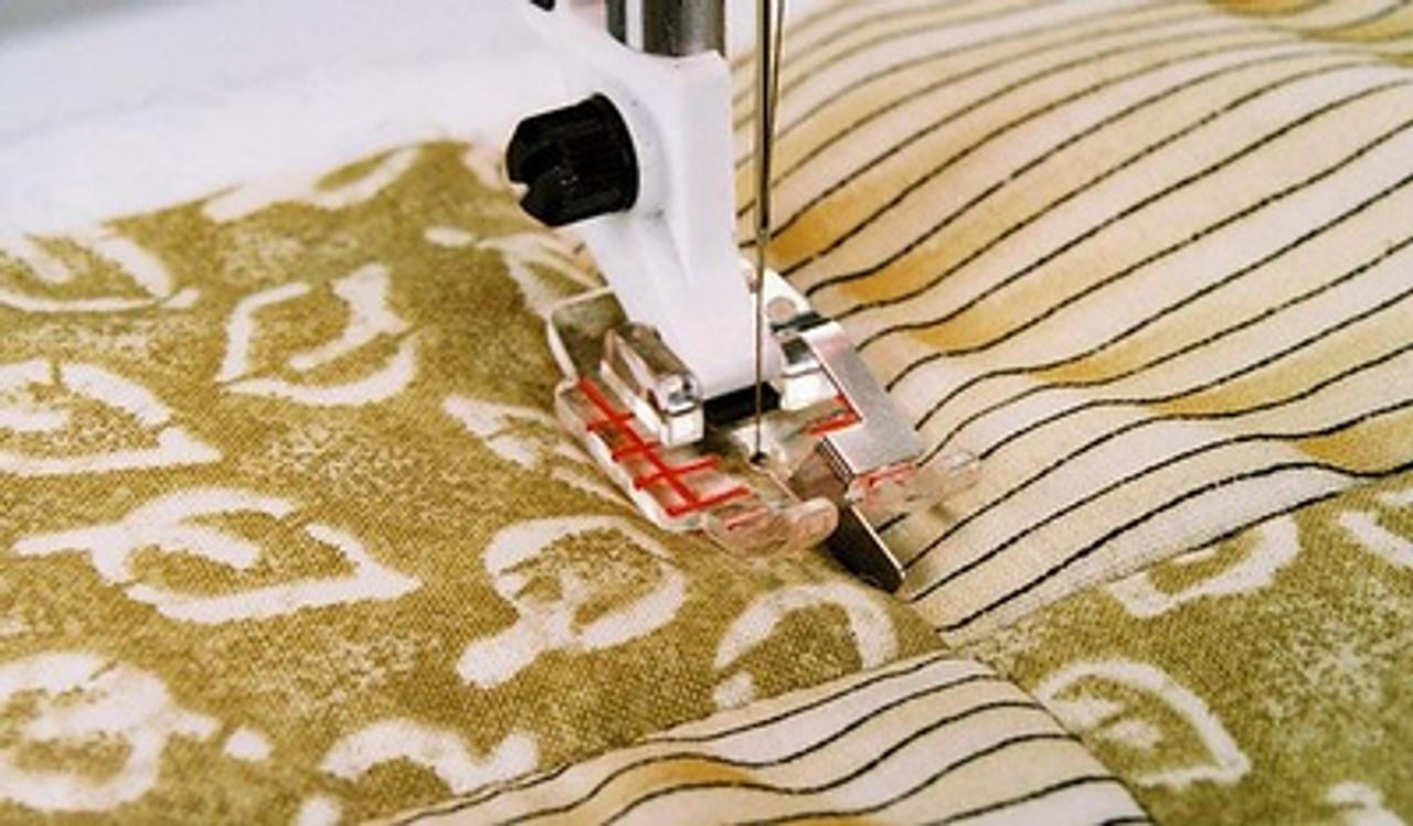 Husqvarna Viking Clear stitch in ditch