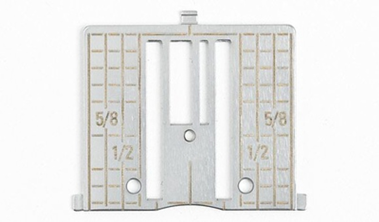 Husqvarna Viking Straight needle plates with inch markings H4125330-02