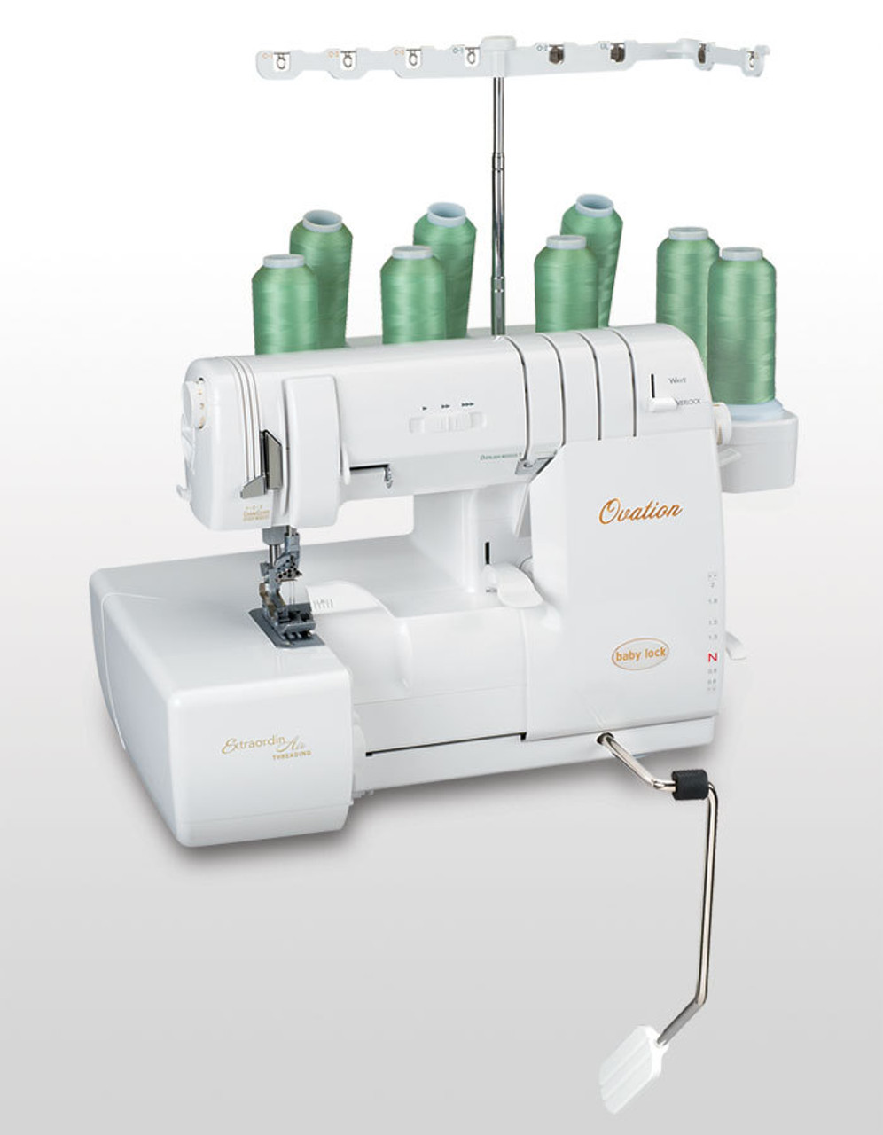 Ovation Overlocker EX DEMO MACHINE