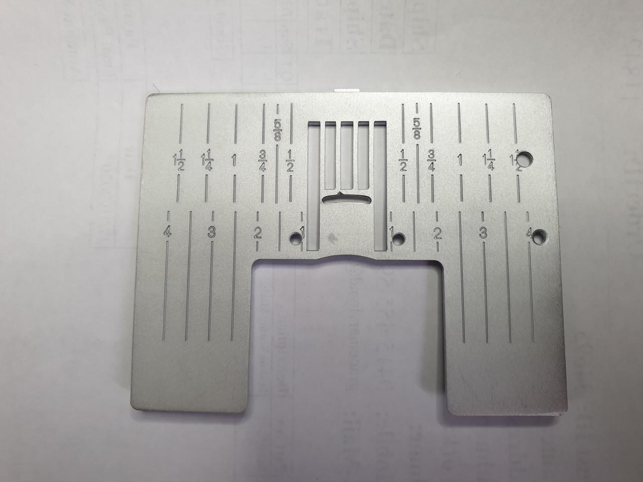 Stitch Plate Metric and Inches