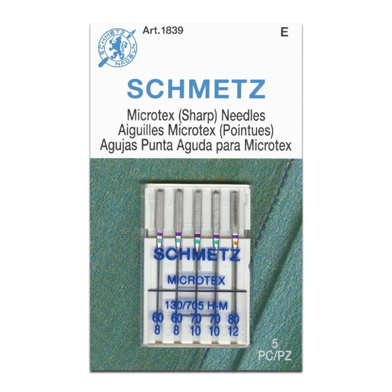 Schmetz Microtex Needles