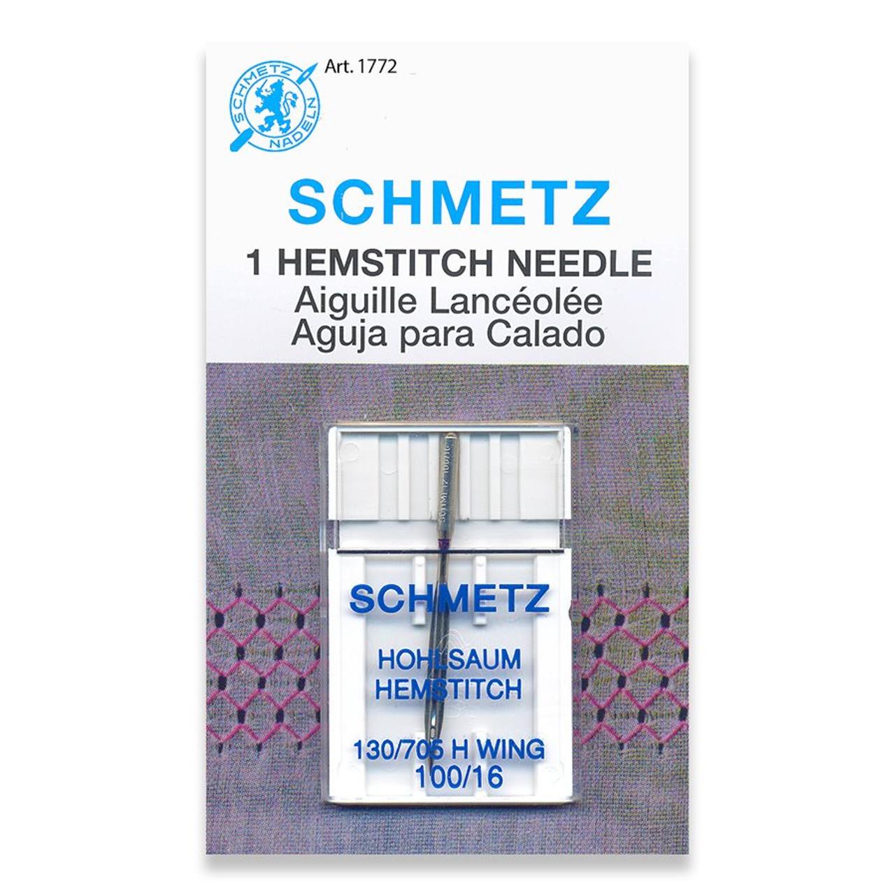 Schmetz Needle Hemstitch Wing