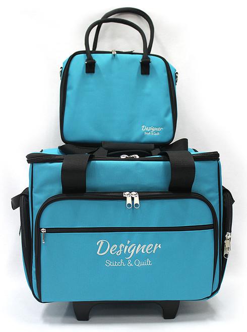 Trolley Bag Medium Teal 43cm