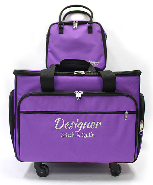 Trolley Bag Large Purple 56cm
