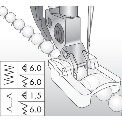 Beading Foot, 6mm