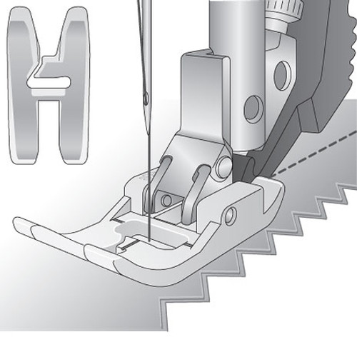 Non-Stick Foot For IDT System