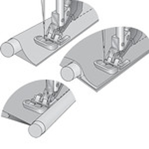 Grand Piping Foot For IDT System