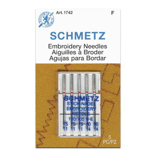 Schmetz Embroidery Needles