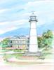 Biloxi Lighthouse copyright Donna Elias