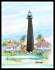 Bolivar Lighthouse by Donna Elias