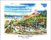 """No Bikes on Beach - Brigantine"" copyright Donna Elias"