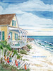 Beach Cottage and Buoys copyright Donna Elias