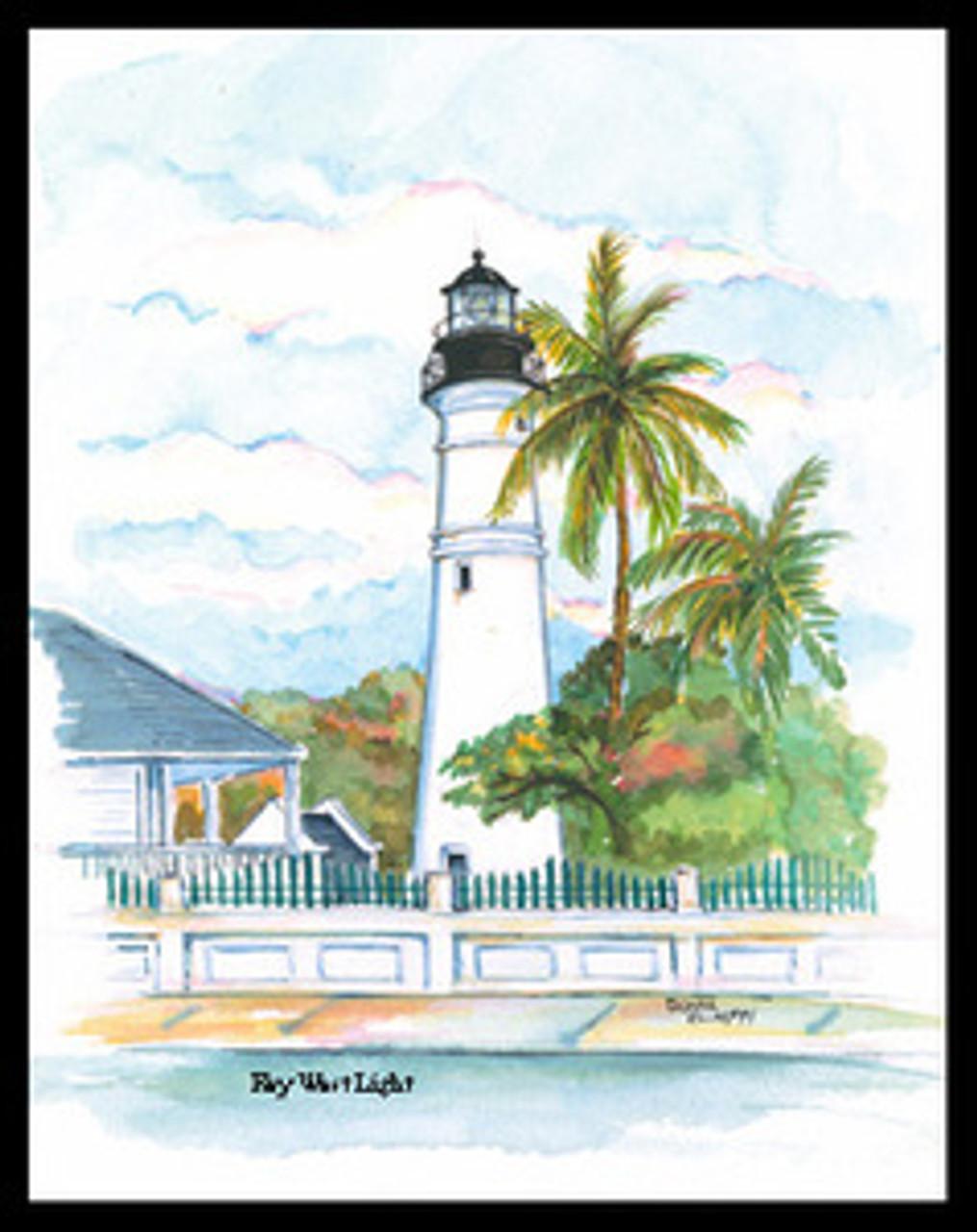 Key West Lighthouse copyright Donna Elias