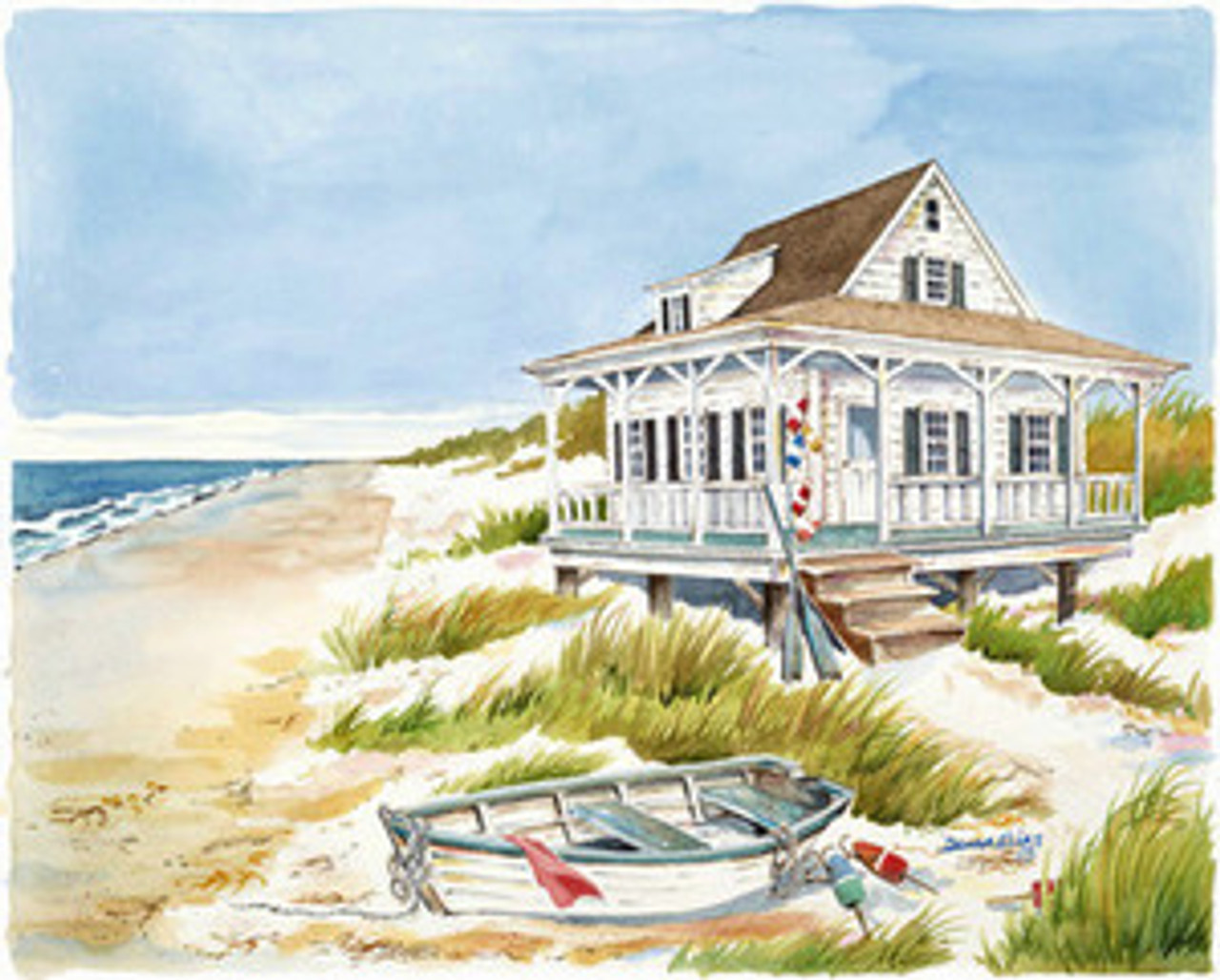 Beach Cottage & Boat