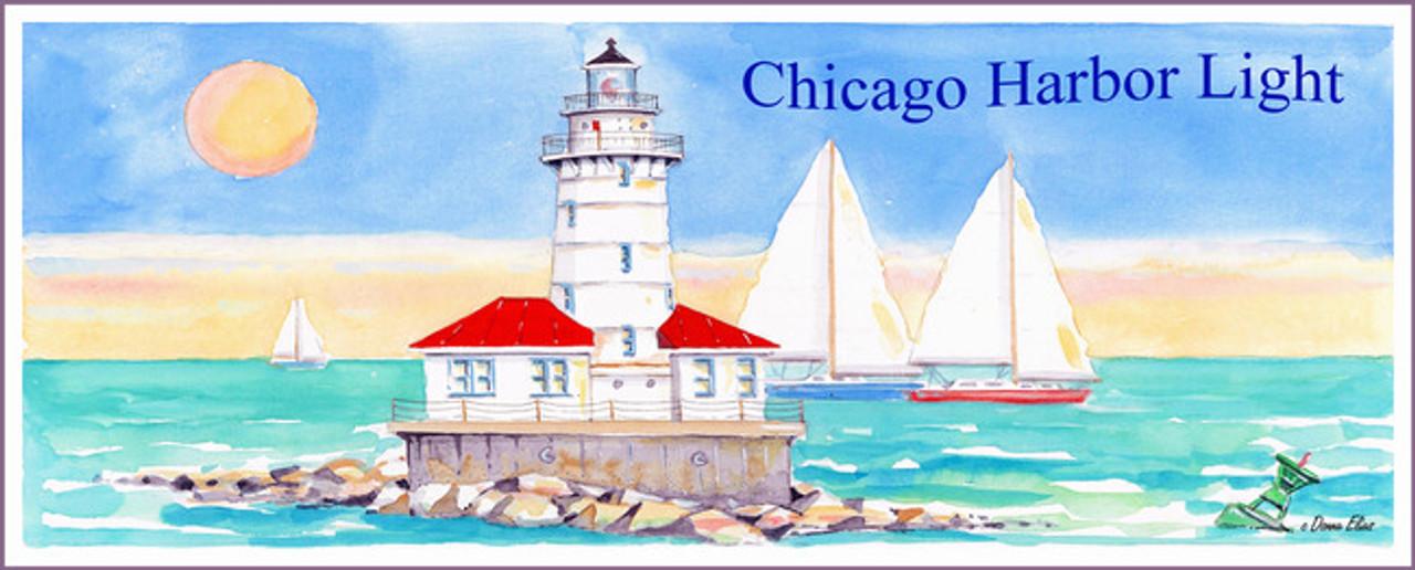 Chicago Harbor Lighthouse 318