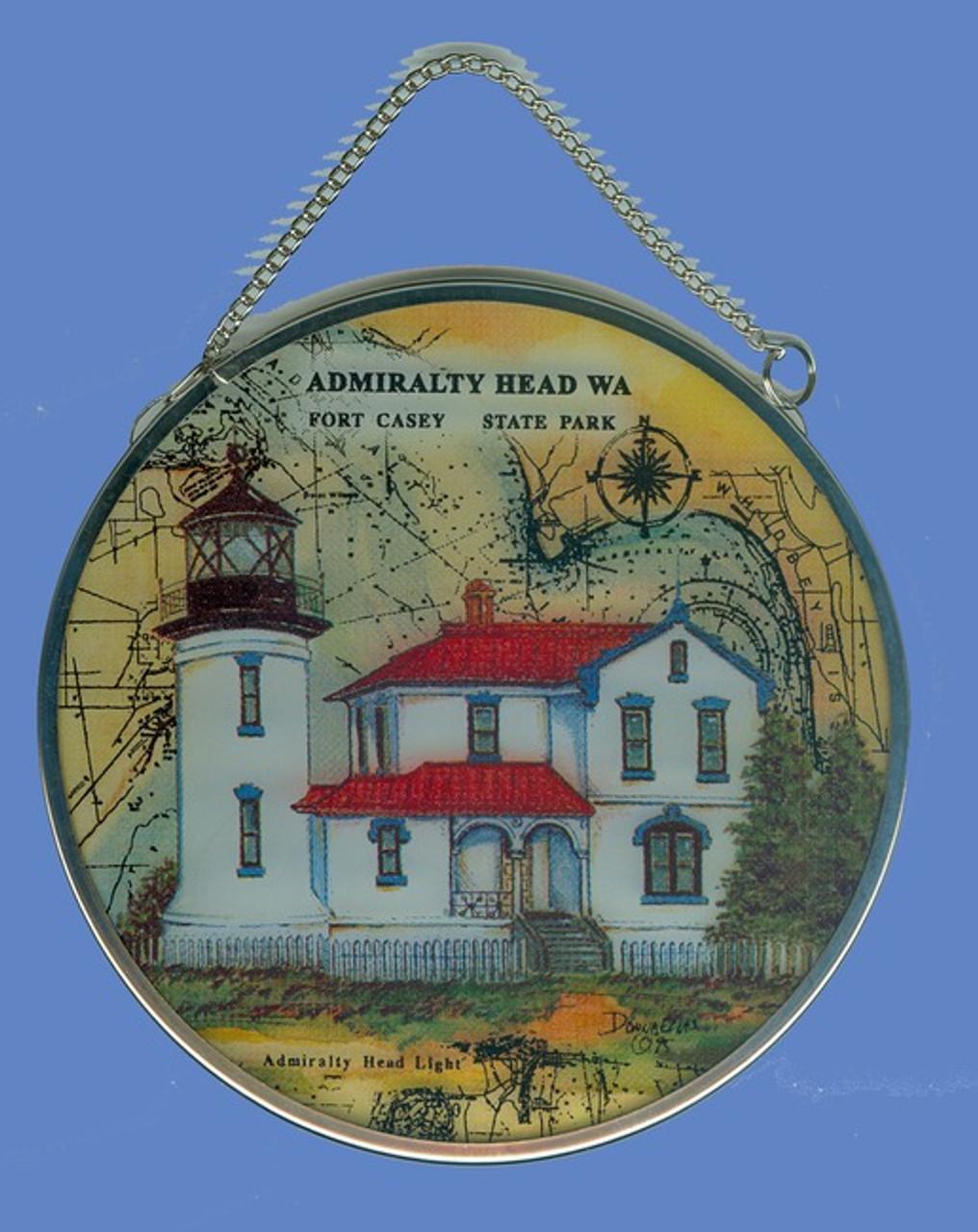 Admiralty Head Lighthouse Suncatcher