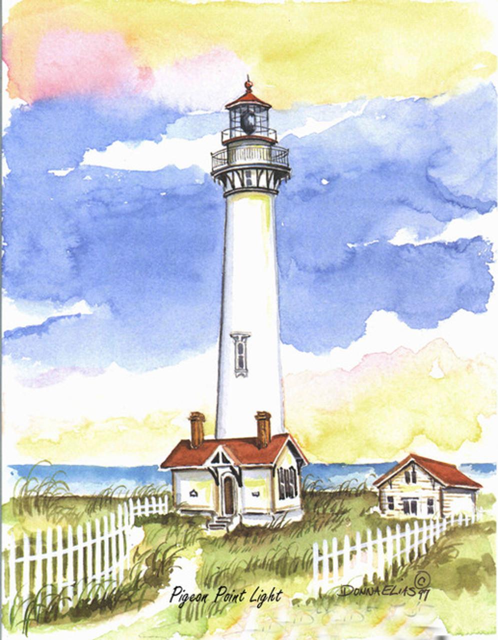 Pigeon Point Lighthouse copyright Donna Elias