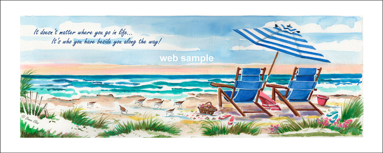 Oceanview Three by Donna Elias